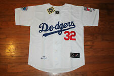 Los Angeles Dodgers #32 Sandy Koufax  White Home Jersey w/Tags Size XL(Adult)