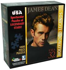 "JAMES DEAN Puzzle NEW SEALED 1000 Pieces White Mountain Puzzles 20"" X 27"""