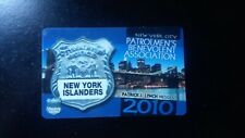 2010 NYC PBA Card (New York Islanders)