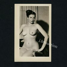 Pin UP proud nude mature lady valorosa donna nude nudo * VINTAGE 60s US PHOTO