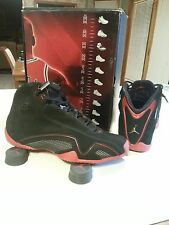 SOLD. (No longer available) Air Jordan XXI 21 Black Suede/Varsity Red.
