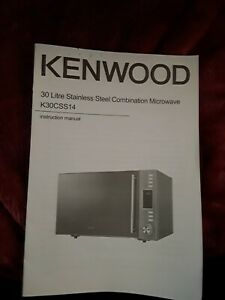 Kenwood Microwave Manual