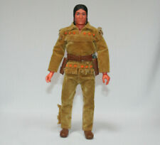 """Gabriel The Lone Ranger TONTO figure 10"""" inch scale almost complete nice Hubley"""