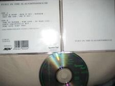 CD Fury In The Slaughterhouse Same S/T Debut Album ERSTPRESSUNG (c) 1989
