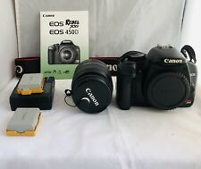 Very Nice Canon EOS XSi 450D 12MP Digital SLR Camera Body with 18-55mm EF-S Lens