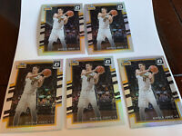 NIKOLA JOKIC 2017-18 Donruss Optic Holo Prizm 5 Card Lot Denver Nuggets ALL HOLO