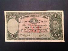 1942 Australia One Pound George VI Armitage & McFarlane