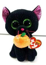 Potion Ty Beanie Boos Black Cat with Pumpkin Plush Stuffed Animal with Tags