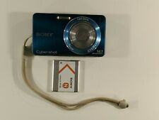 Sony Cyber-shot W350 14.1MP Digital Camera - Blue