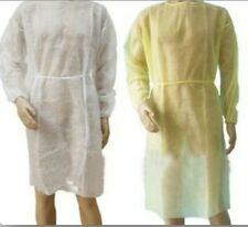 Disposable Isolation Gowns, Protective Gowns, Universal Size - package of 10pcs