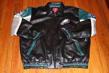 Philadelphia Eagles Faux Leather Coat Sz. XXL