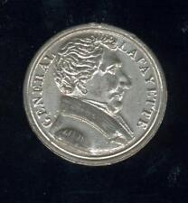 Superbe médaille étain général Lafayette 1830