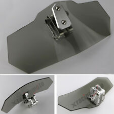 Adjustable Clip on Windshield Windscreen Spoiler For BMW F800GS Adventure Gray
