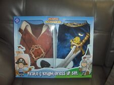 Pirate & KNIGHT Kids' Costume - WITH ACCESSORIES AGE 4/7  YEARS BNIB