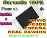 PANTALLA LCD COMPLETA + TACTIL PARA IPHONE 4S DIGITALIZADOR CRISTAL BLANCO 4