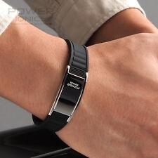 Titanium Magnetic Power Ionics Bracelet Band Balance BK