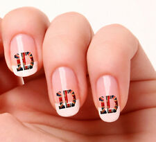 20 Art Ongles Stickers Transferts Stickers #716 - One Direction 1D Union Jack