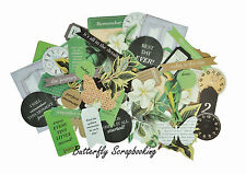 Green Limelight Collection Scrapbooking 50 Die Cuts Collectables Kaisercraft NEW
