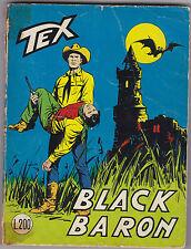 TEX N° 94 AGOSTO 1968 BLACK BARON L.200  1 EDIZIONE ORIGINALE  L-5