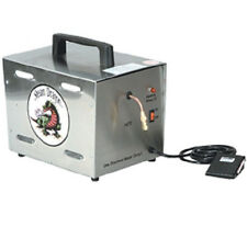 Silver DRAGON Jewelers, Dental,STEAM CLEANING Machine w/ FOOT PEDAL 90-125 PSI