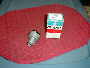 NOS MOPAR 1960 THRU 1968 IGNITION SWITCH ALL MODELS