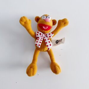 """Fozzie Bear The Muppets McDonald's 2003 Small 6"""" Plush Soft Toy"""