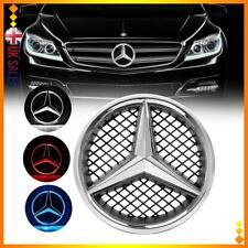 For Mercedes Benz Illuminated LED Light Sport Front Grille Star Emblem 18.5CM