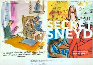 Doug Sneyd Signed Original Art Playboy Gag Rough Published Secret Sneyd OFFICE
