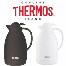 Thermos Patio Glass Lined Carafe 1L Insulated Flask Coffee Pot Jug Water Pitcher