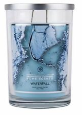 Chesapeake Bay Home Scents Jar Candle - Waterfall 19 oz (Clean Fresh Scent) NEW
