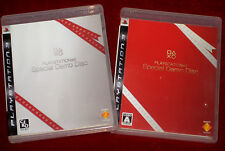 *Complete* PS3 PlayStation 3 SPECIAL DEMO DISC White + Red Japan Region Free