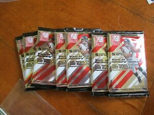 2005  Donruss Elite Hobby Football Packs  With 5 Cards per Pack