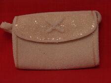 Ravissant petit sac de soirée en perles. vintage années  50