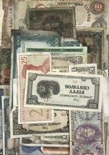 World Banknotes collection Mixed Condition some with fault (50 notes)