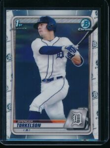 SPENCER TORKELSON 1st 2020 Bowman Chrome Draft Rookie Card RC QUANTITY AVAIL