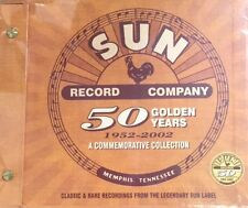 SUN Record Company - 50 Golden Years  A Commemorative Collection CD/BOX SET Gift