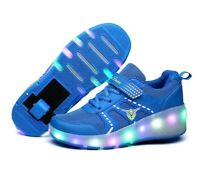 2020 Sneakers roller shoes With two Wheels Wheelys Led Shoes Kids Girls Children