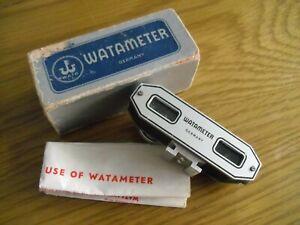 Vintage SLR Film Camera Range Finder Watameter in Original Box with Instructions