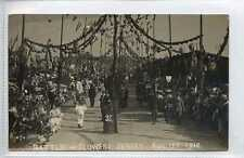 More details for (gw199-447) real photo, battle of flowers, jersey, 1910  used vg-ex