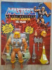 B-WARE# DELUXE BATTLE ARMOR HE MAN MOTU ORIGINS 2021 MATTEL Masters the Universe