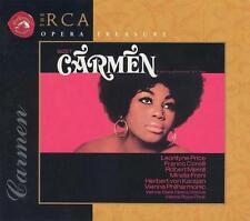 Sealed 3 CD Box: BIZET: CARMEN: Von Jataka/Leontine Price: 1998 RCA Ted Seal