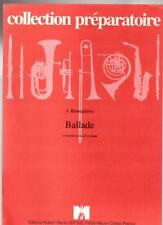 Ballade trompette ut ou si bémol et piano