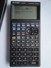 Sharp El-9600C Equation Editor Graphing Calculator El 9600 C W Cover Stylus Pen