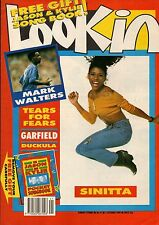 Look-In Magazine 7 October 1989     Sinitta    Tears for Fears    Mark Walters