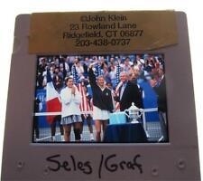 MONICA SELES STEFFI GRAF WTA TENNIS OLYMPICS ORIGINAL SLIDE 1
