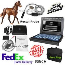Fedex Veterinary Bovine&equine Ultrasound Scanner CMS600P2VET+endorectal probe