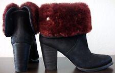 UGG LAYNA 1005955 Bootie Ankle Cuff Boots Damen Stiefeletten Leder Gr.39 NEU