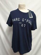 Marc O'Polo herren t shirt Sleeve Blau Gr.S Neu mit Etikett