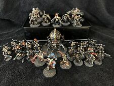 warhammer 40k chaos space marines Army Black legion Fully Painted