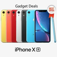 Apple iPhone XR 4G LTE  (Unlocked) XR ✔✔All GB & Colors ✔ BEST DEAL iPhone